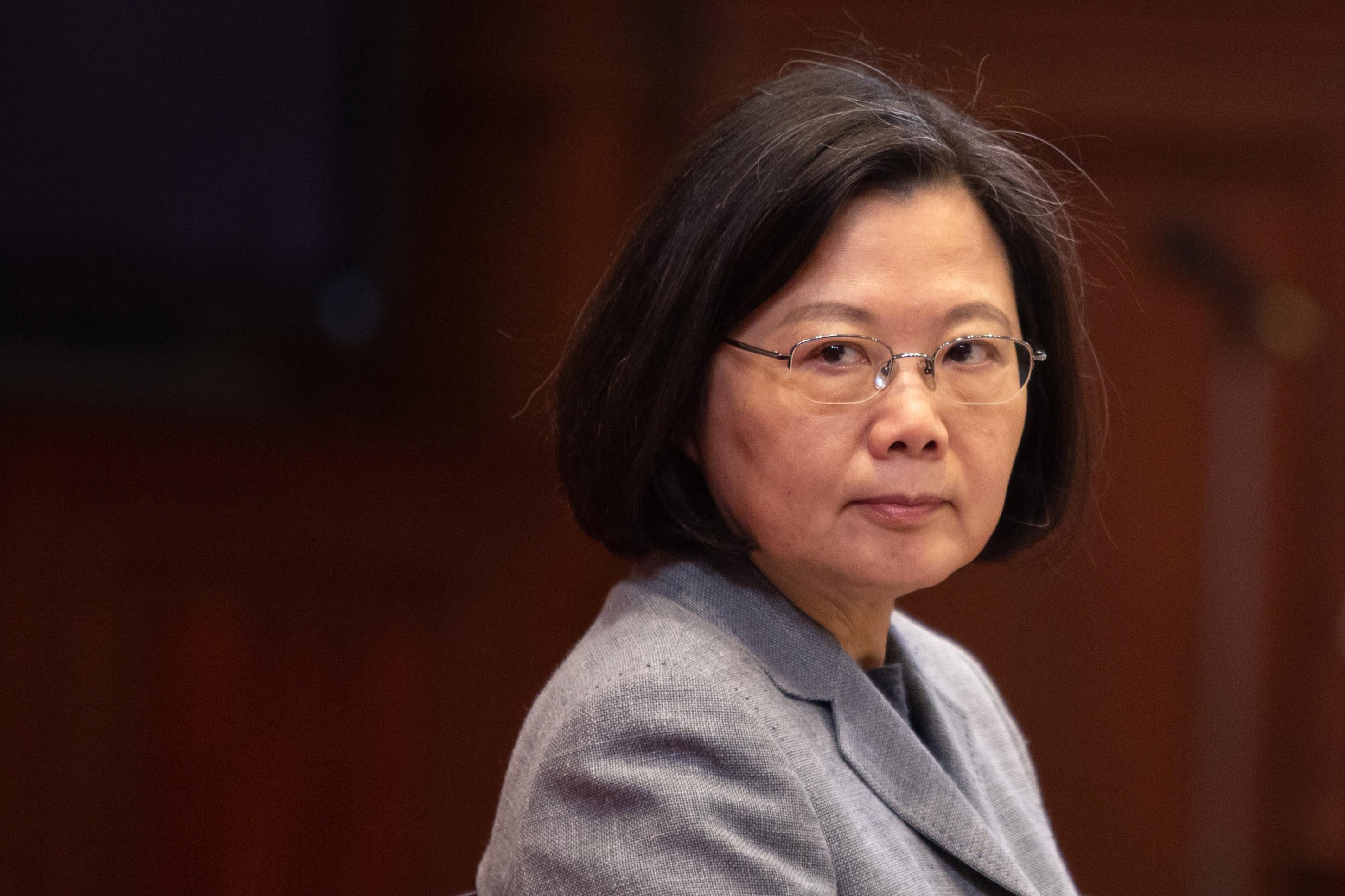Taiwan's Tsai backs Hong Kongers after China proposes security law