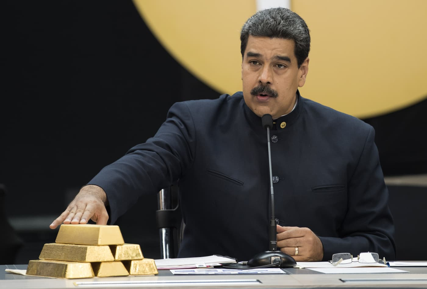 Forget oil: Here's why gold is key to Venezuela's crisis-stricken government