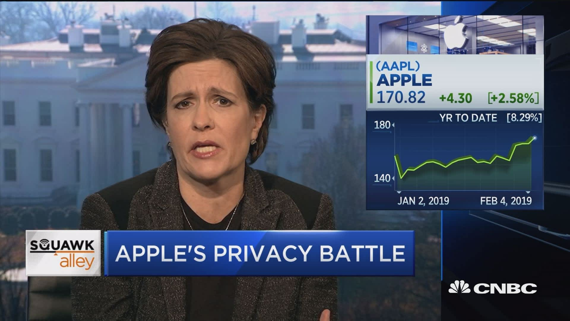 It's in Apple's interest to say privacy is important to them, says Kara  Swisher