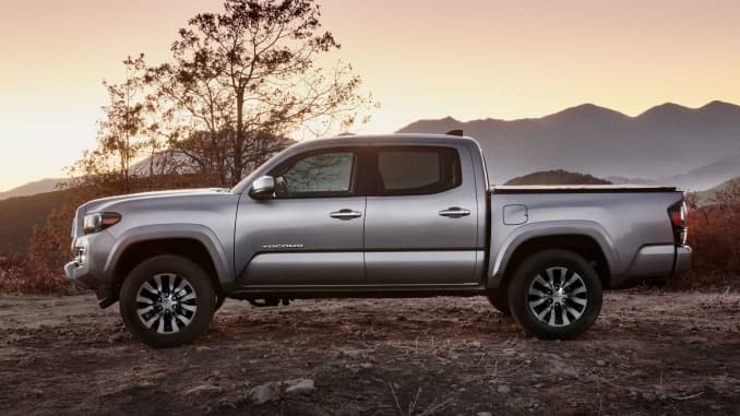 Toyota debuts new Tacoma to protect its crown from U S  rivals