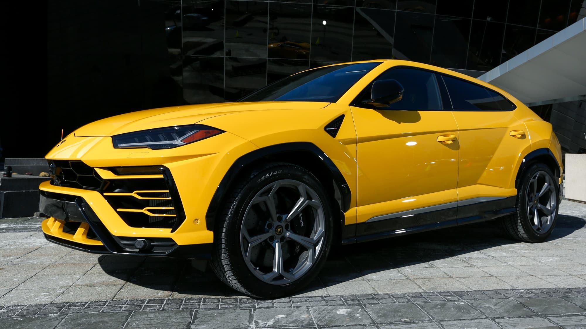 Lamborghini\u0027s new $200,000 SUV boosts automaker\u0027s sales by