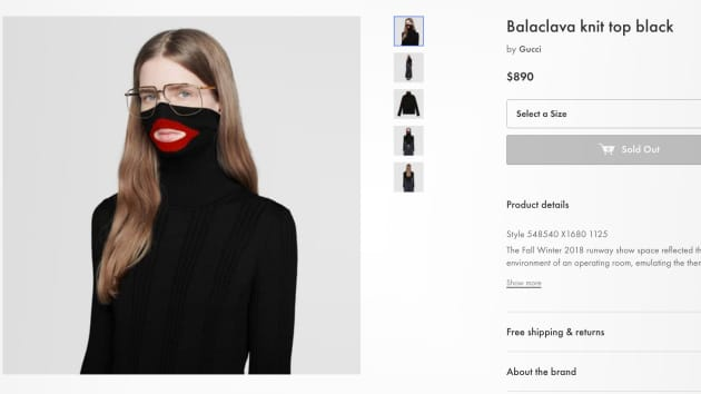 dc57fc1d2 Gucci pulls its  blackface sweater  from stores after complaints