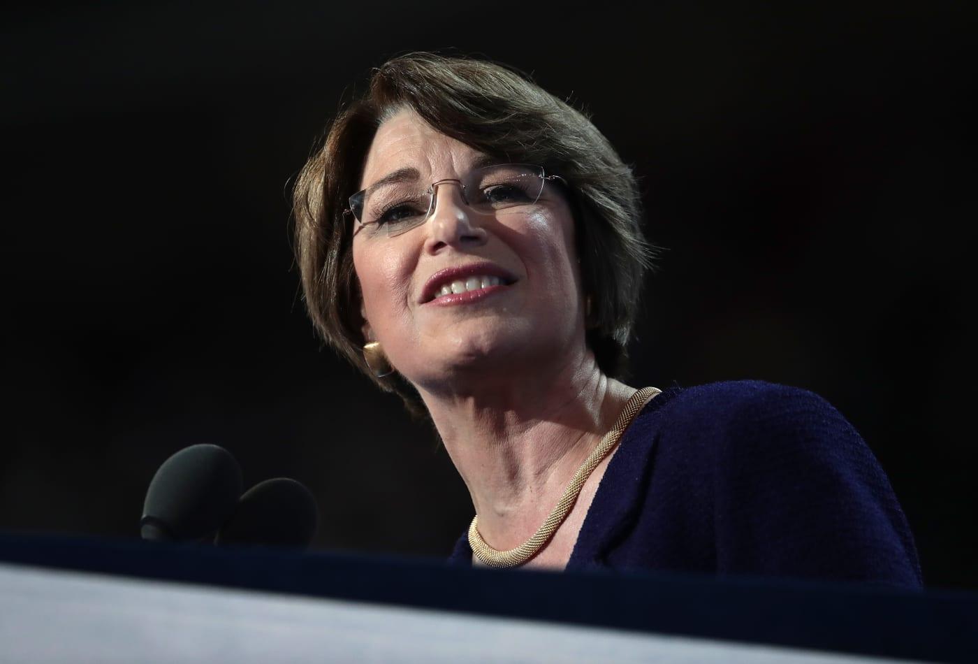 Democratic Sen. Amy Klobuchar is running for president — here are her top priorities