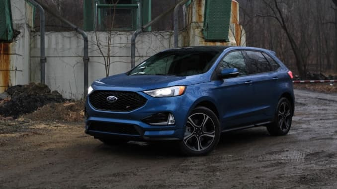 2019 Ford Edge: News, Changes, Arrival >> Review The 2019 Ford Edge St Isn T The Sporty Suv We Wanted