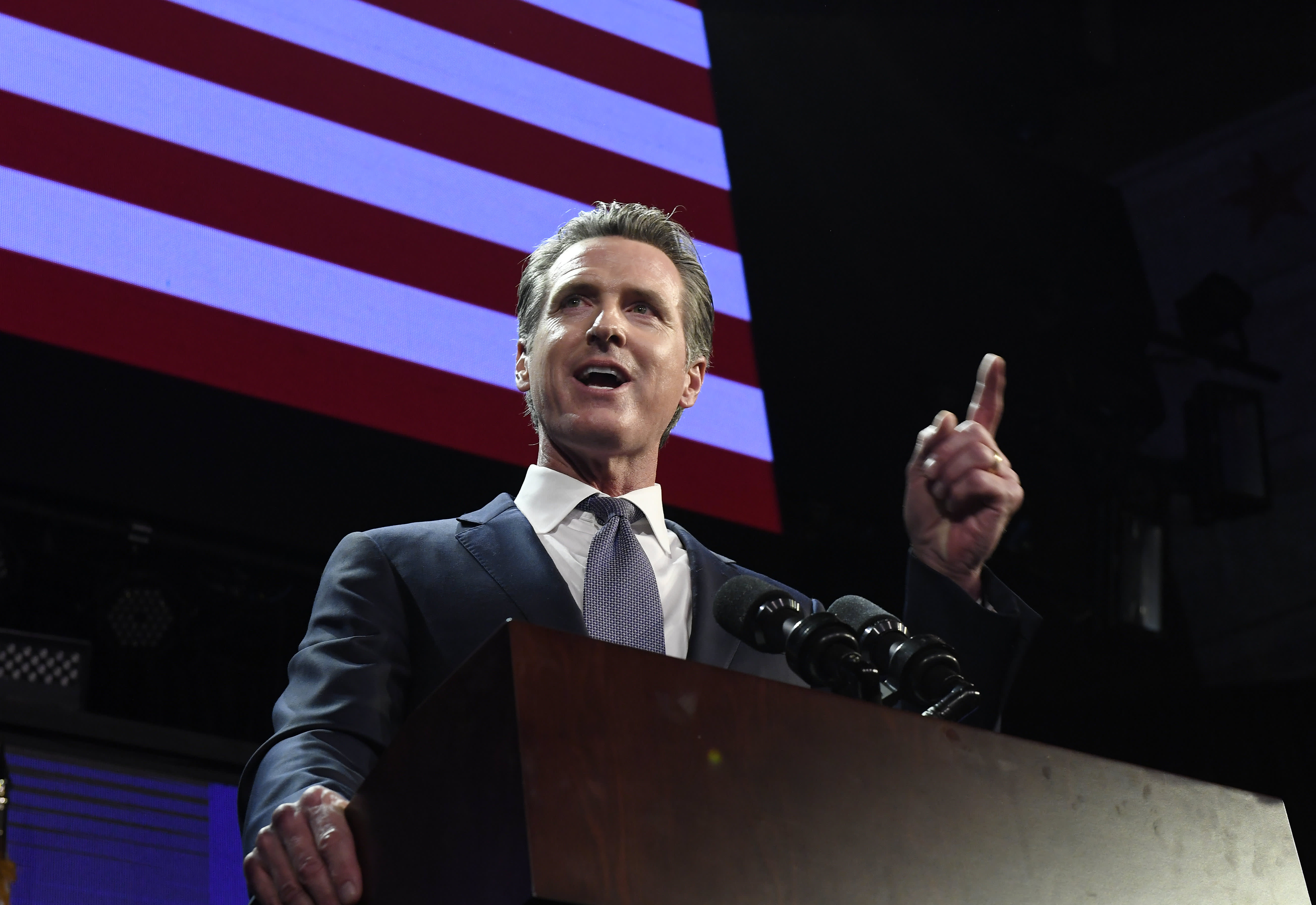 California Gov  Newsom calls for 'new data dividend' for
