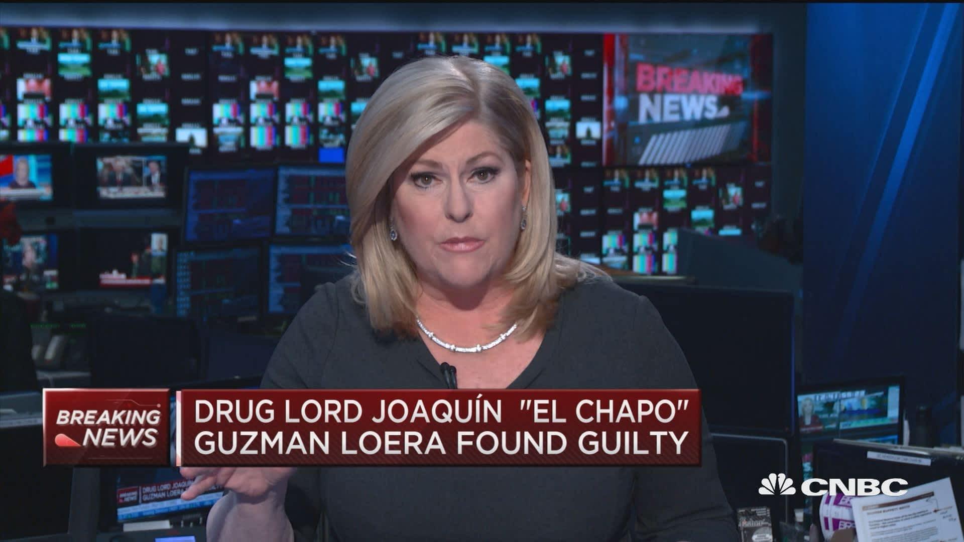 Drug kingpin El Chapo sentenced to life in prison, must forfeit $12.6 billion
