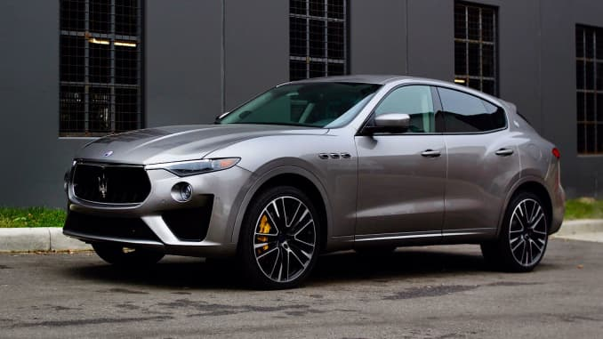 Maserati Levante Gts Delivers On Speed With Ferrari Engine