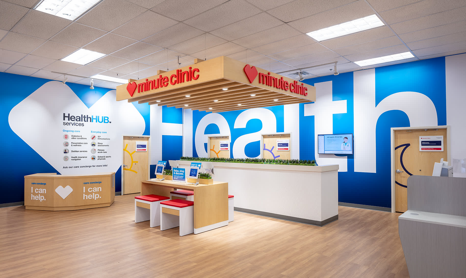 Cvs Health Shows Off New Healthhub Store Design