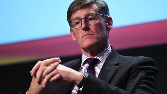 Giám đốc điều hành của Citigroup Michael Corbat phát biểu tại sự kiện Diễn đàn Tài chính Châu Âu ở Dublin, Ireland vào ngày 13 tháng 2 năm 2019.