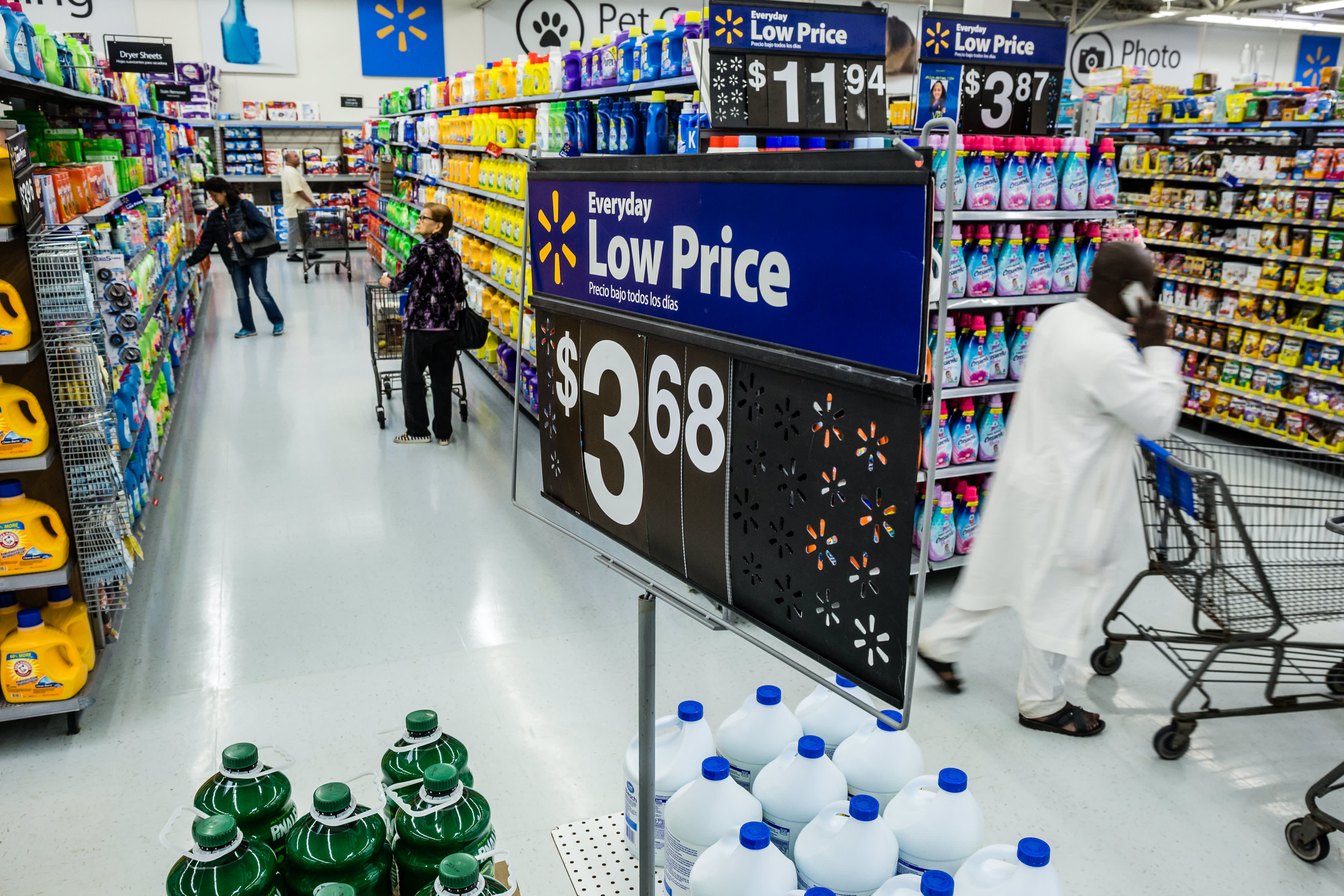 Walmart reports first-quarter earnings for fiscal 2020