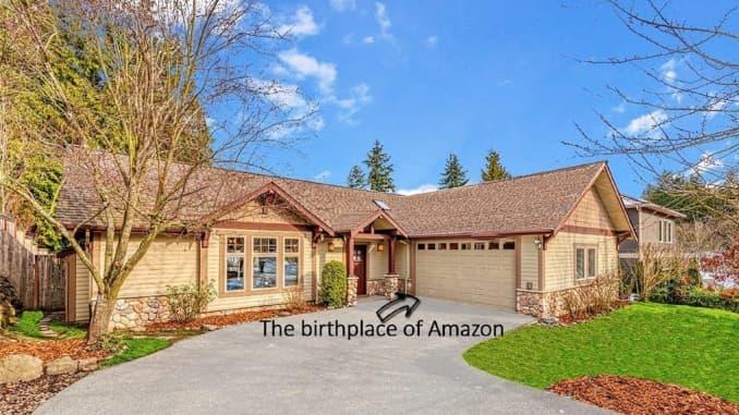 Photos Inside Seattle House Where Jeff Bezos Started Amazon