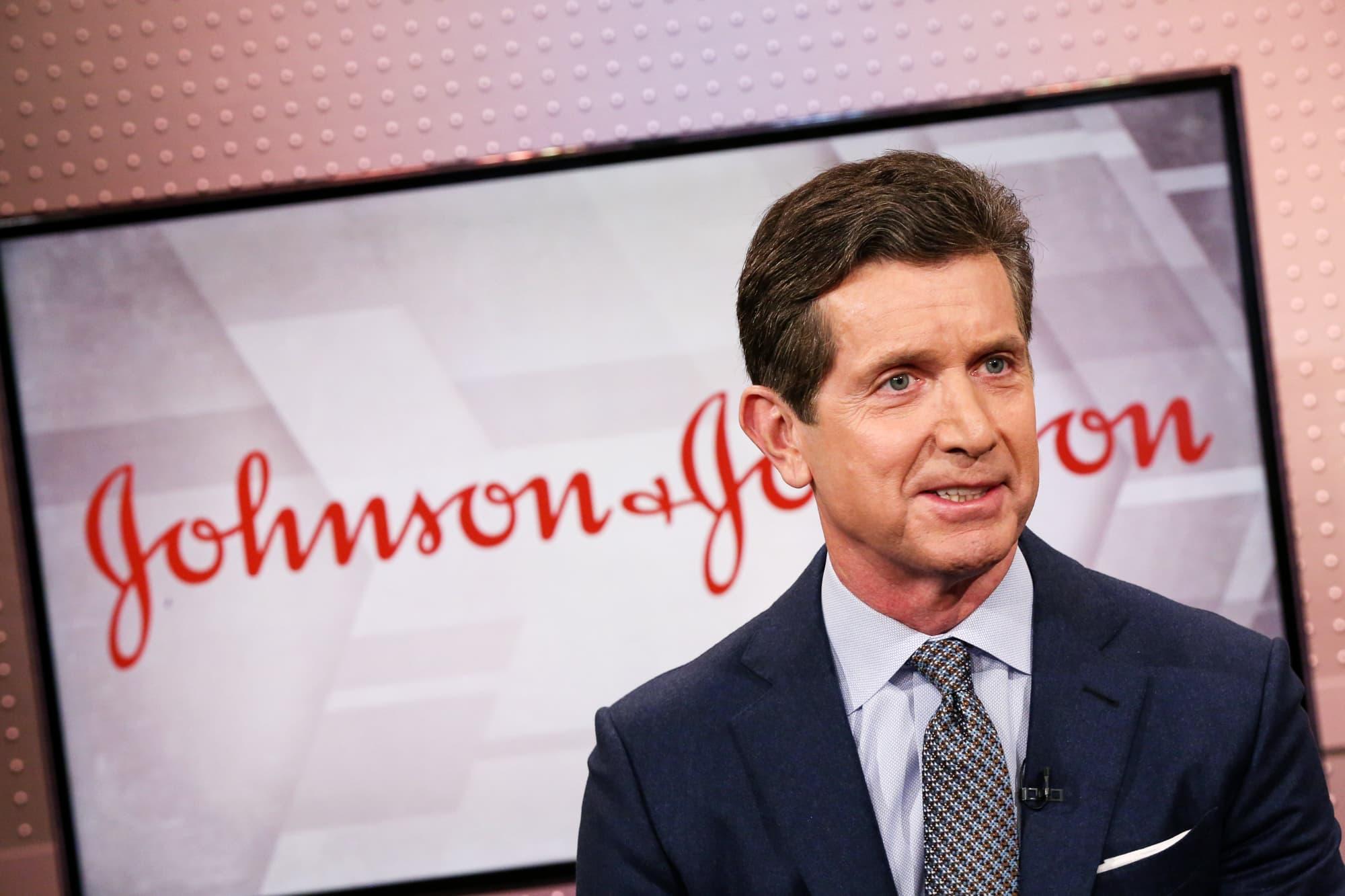 CNBC: Alex Gorsky, CEO of Johnson & Johnson MM 190215 1