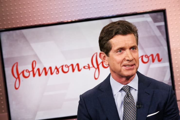 CNBC: Alex Gorsky, CEO of Johnson & Johnson MM 190215 1