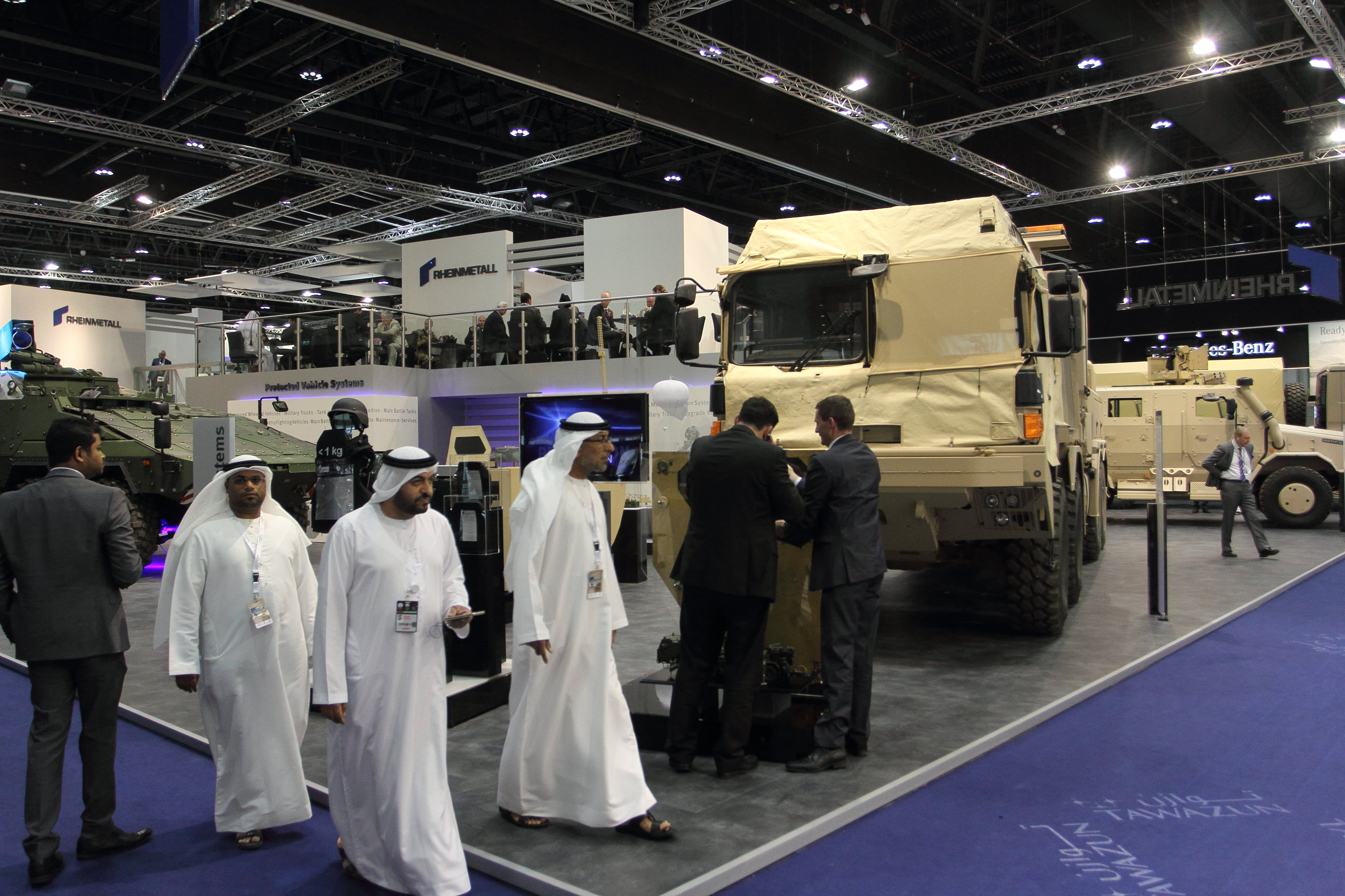 UAE announces IDEX weapons deals as Middle East arms spending climbs