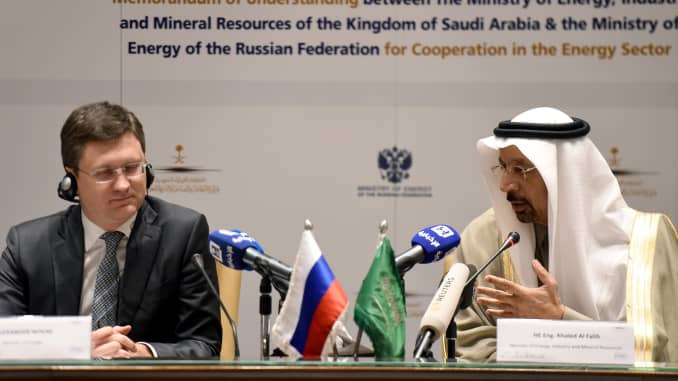 Saudi Arabia's oil deal with Russia is now 'more fragile