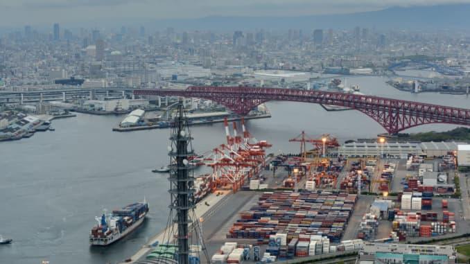 GI: Osaka port Japan - 105747392