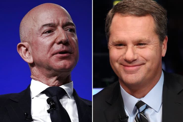 GS/CNBC: Jeff Bezos Doug McMillon