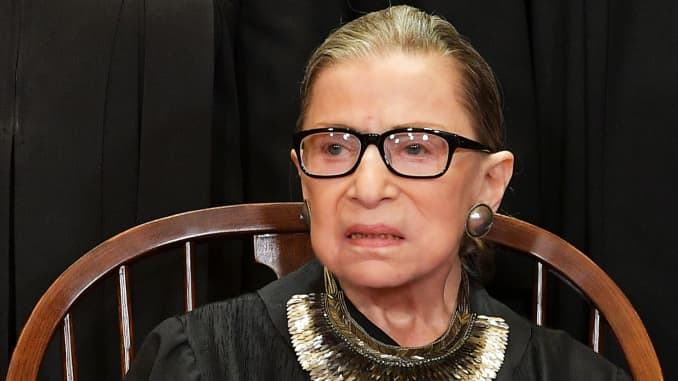 Ruth Bader Ginsburg Undergoes Cancer Treatment For