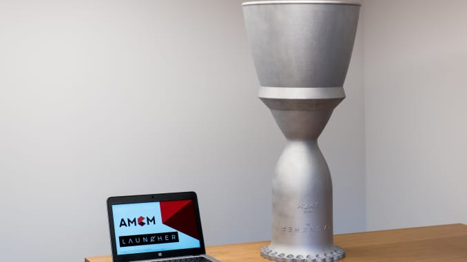Rocket start-up Launcher gets largest single piece 3D