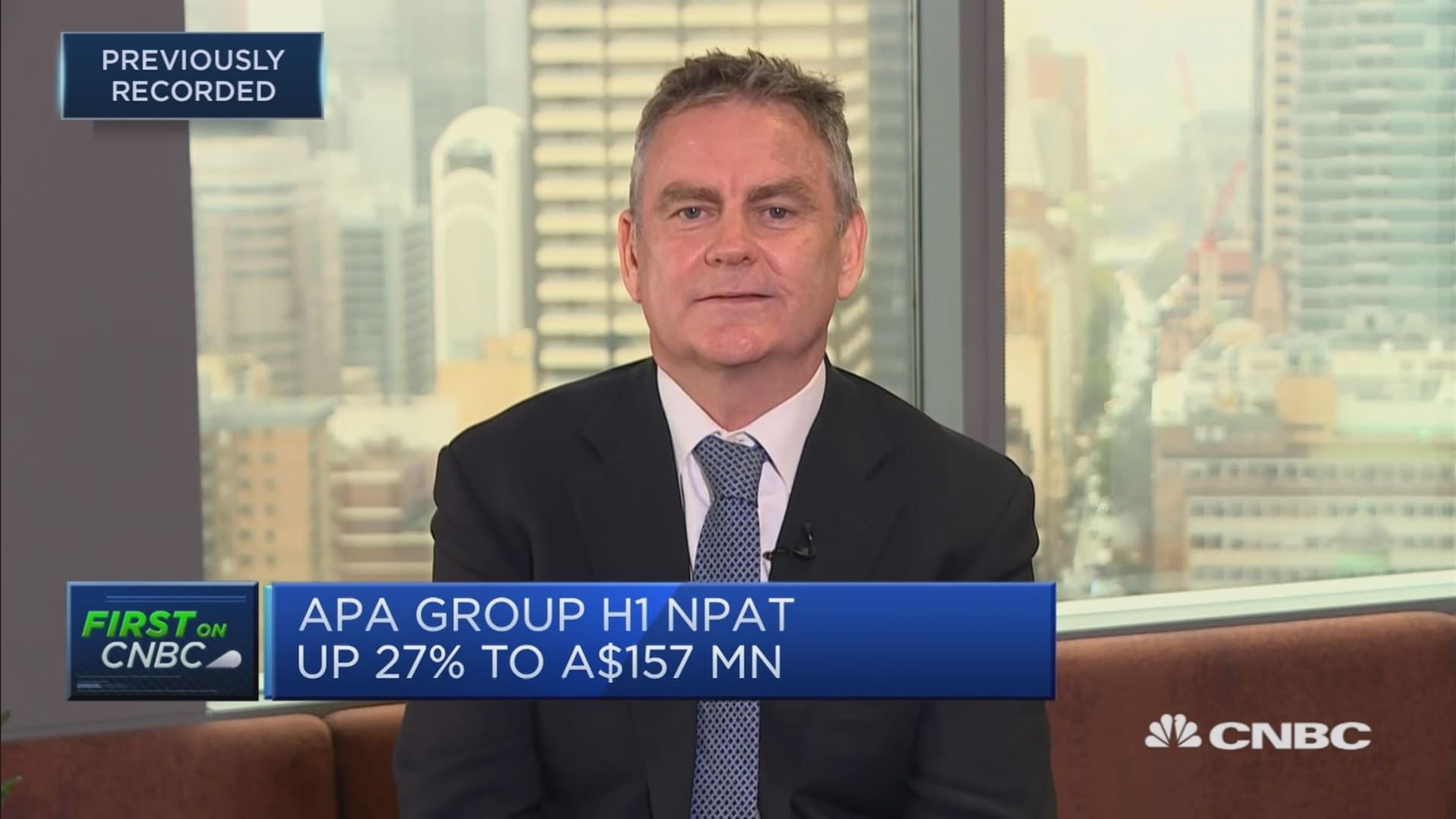 APA Group chief: It's onwards and upwards for us