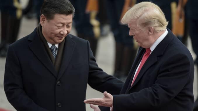 GP: Donald Trump and Xi Jinping 190220