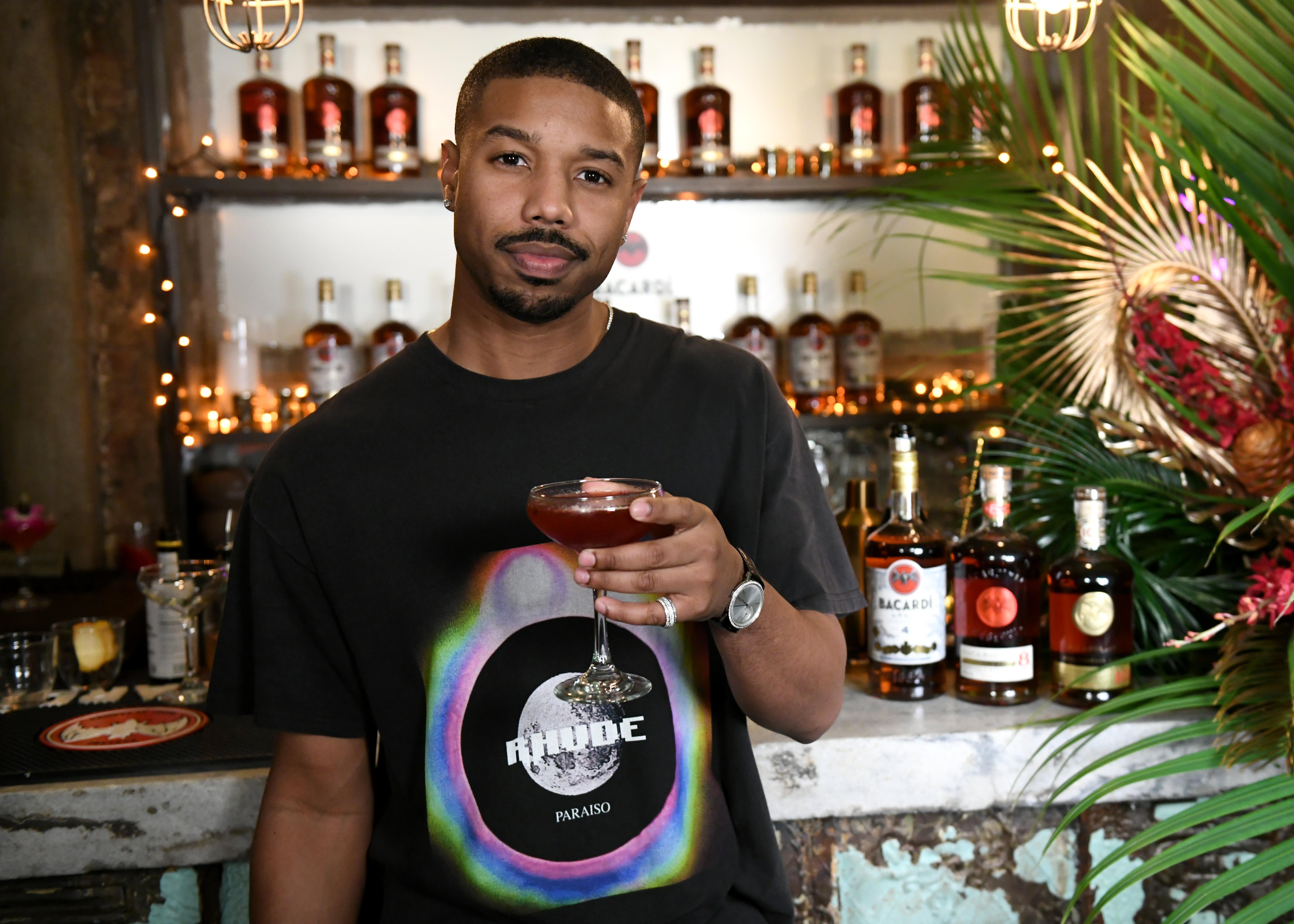 5a69747528b Sweet reason 'Black Panther's' Michael B. Jordan has Las' Lap rum bar