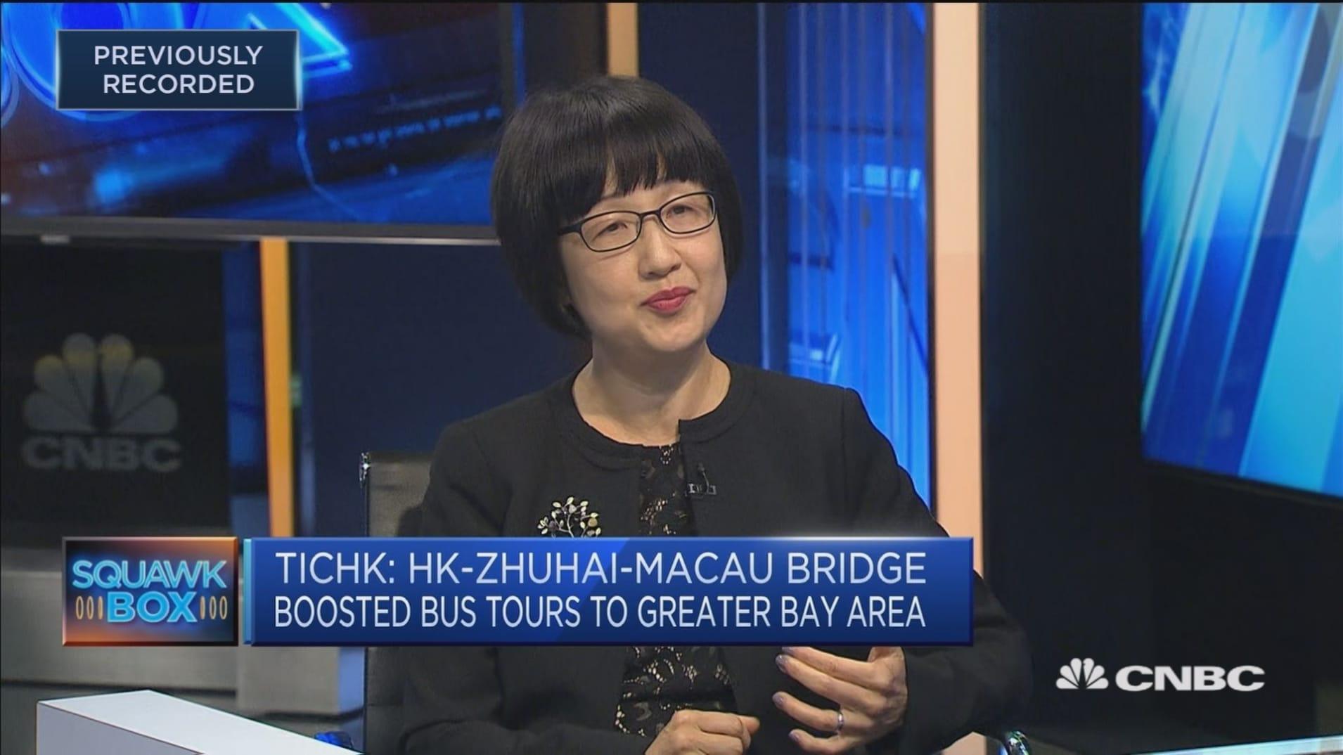 Hong Kong has seen a 'huge increase' in Mainland visitors: TICHK