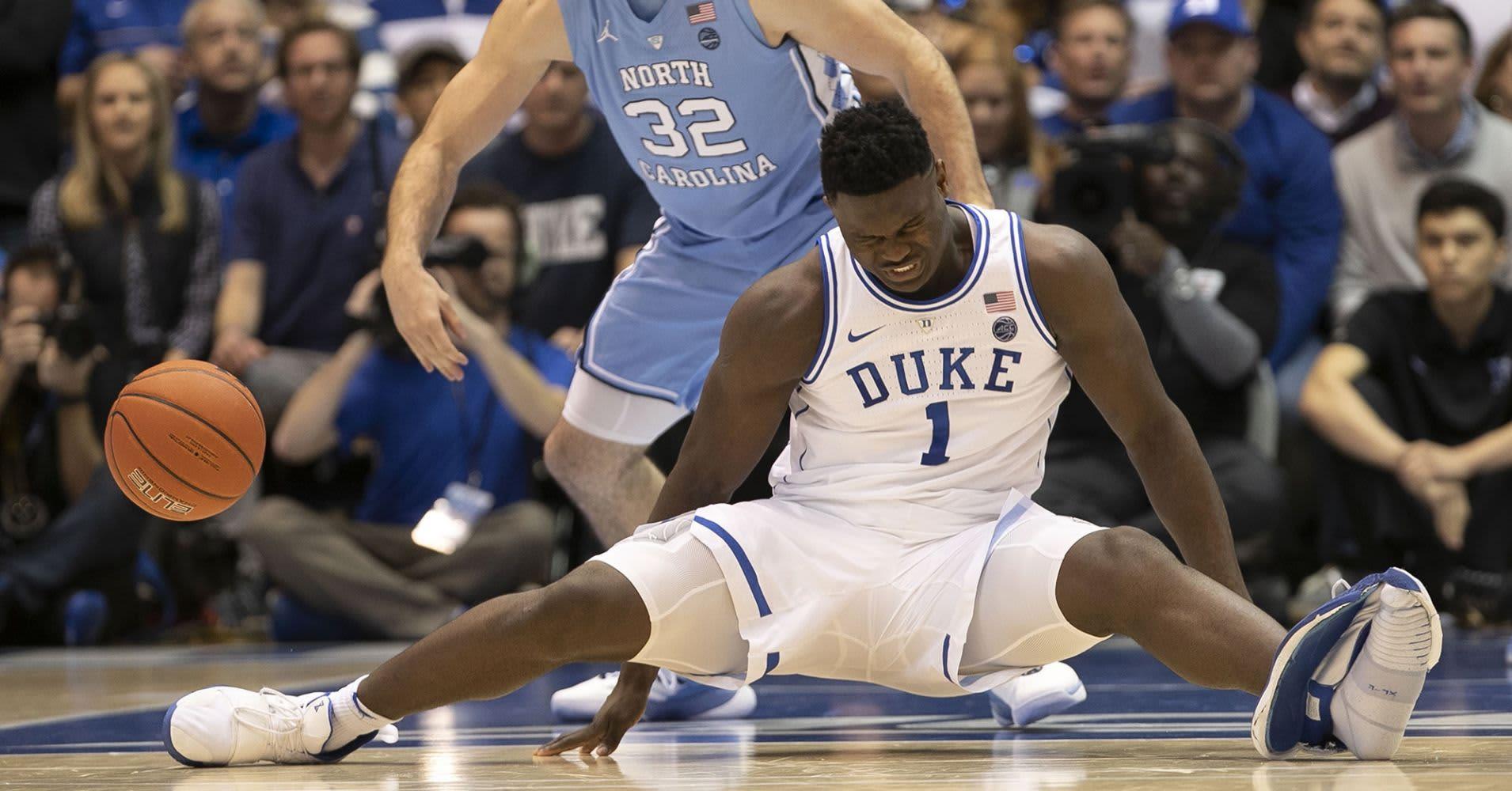 5446fa1e2eb Nike stocks drop following Duke basketball player injury