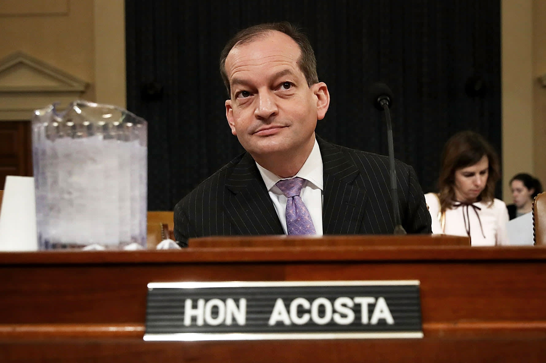 Labor Secretary Alex Acosta is resigning as pressure mounts from Jeffrey Epstein case