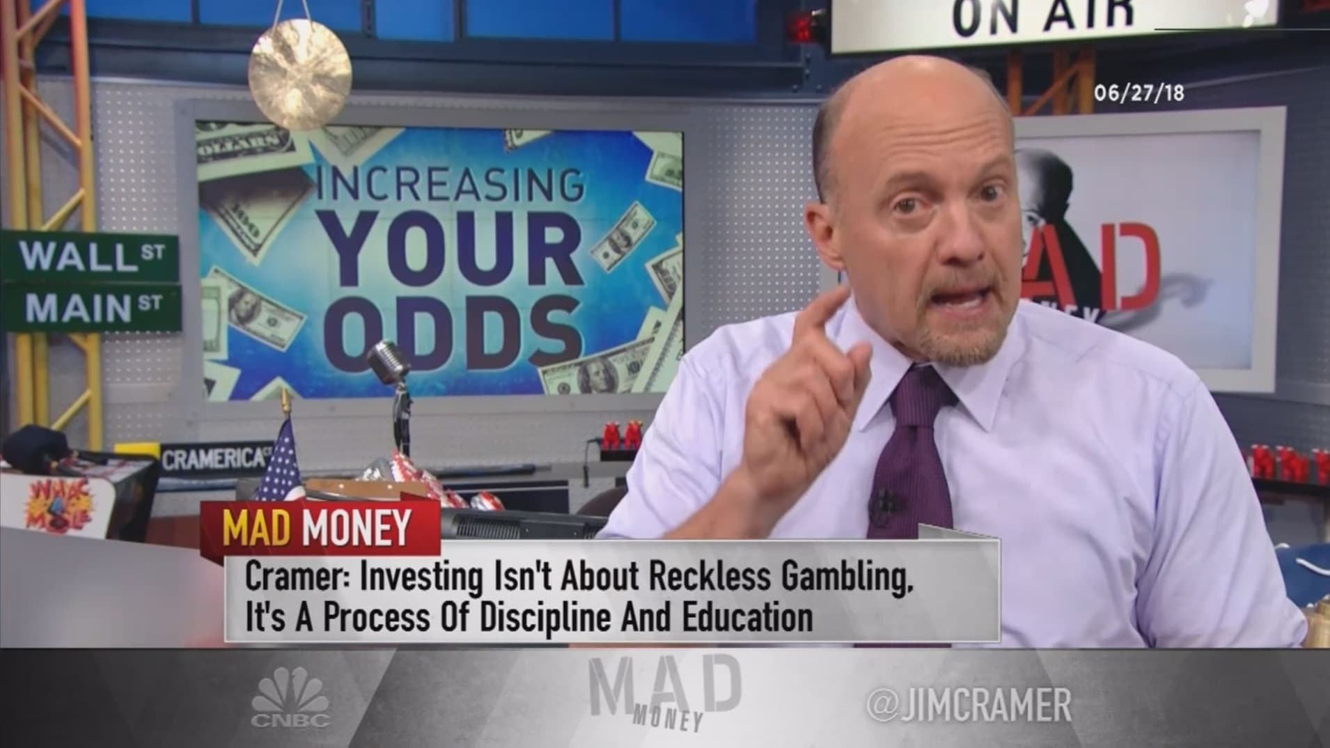 Cramer explains why picking individual stocks doesn't have to be reckless