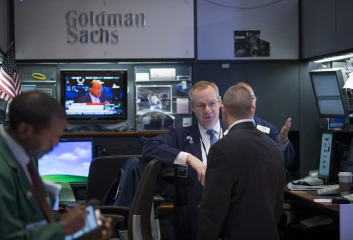 GP: Goldman Sachs booth on NYSE traders 130102