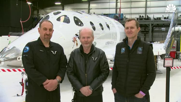 Speculative space stock Virgin Galactic is up 170% in just two months