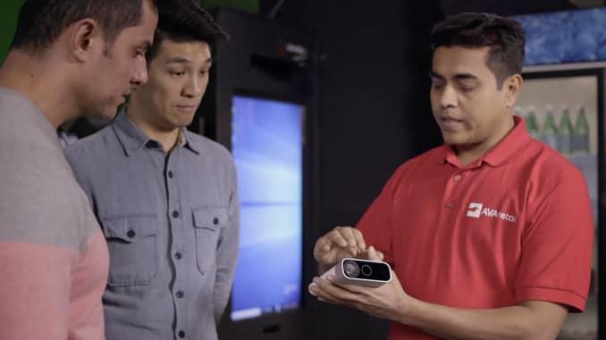 Microsoft reveals an A I  camera for developers
