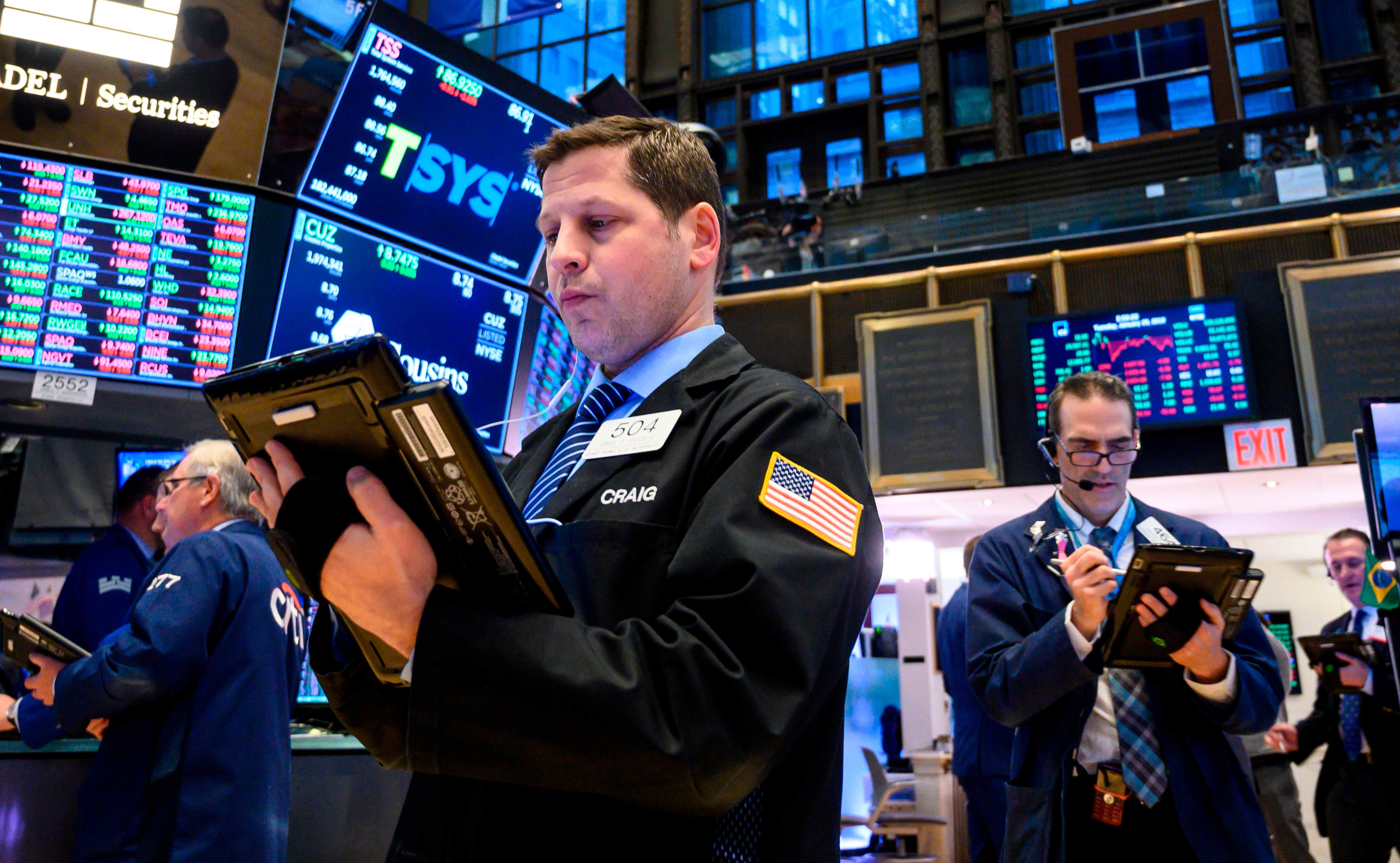 US Treasury yields move lower as investors await economic data, auctions