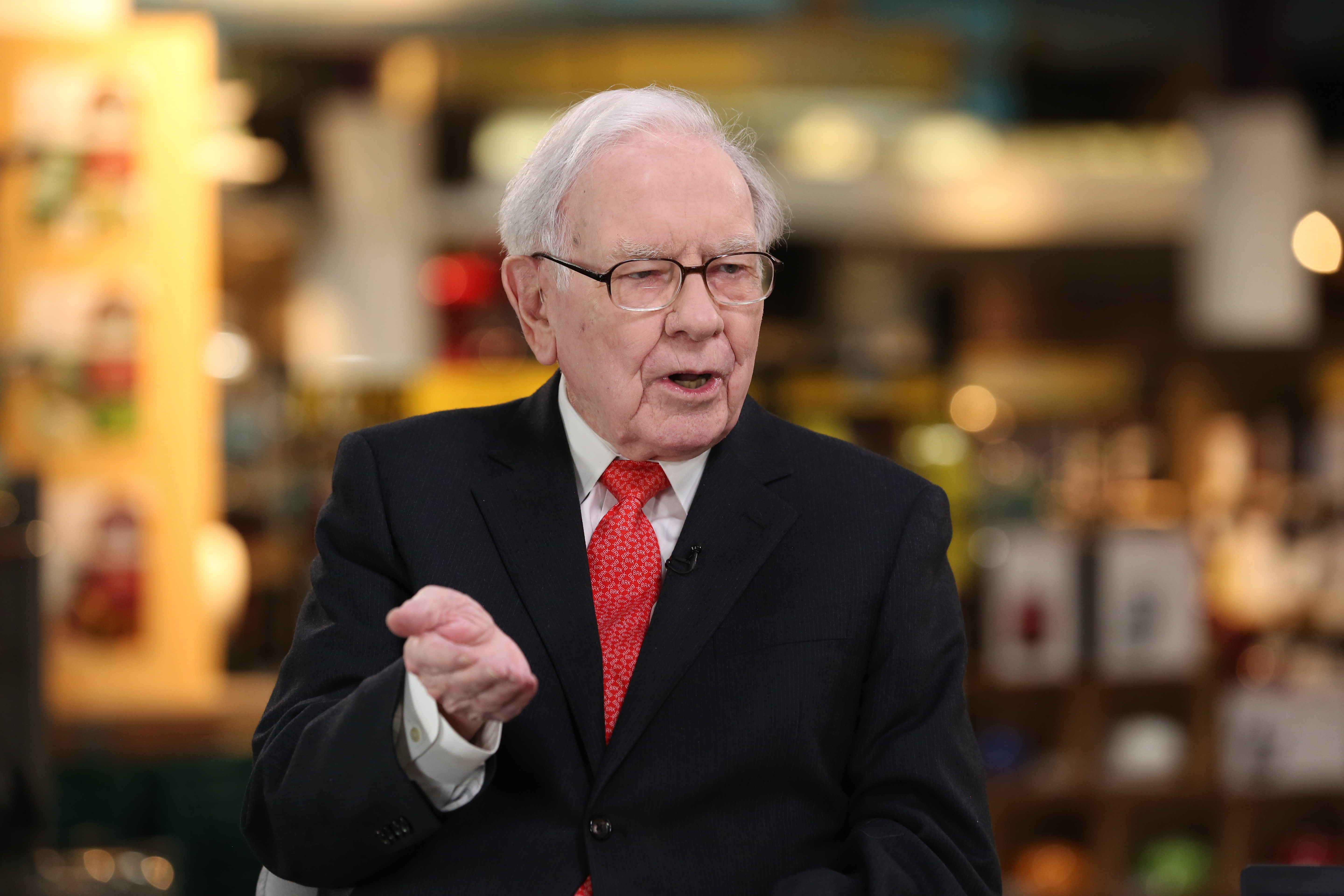 Warren Buffett wants 90 percent of his wealth to go to this one investment after he's gone