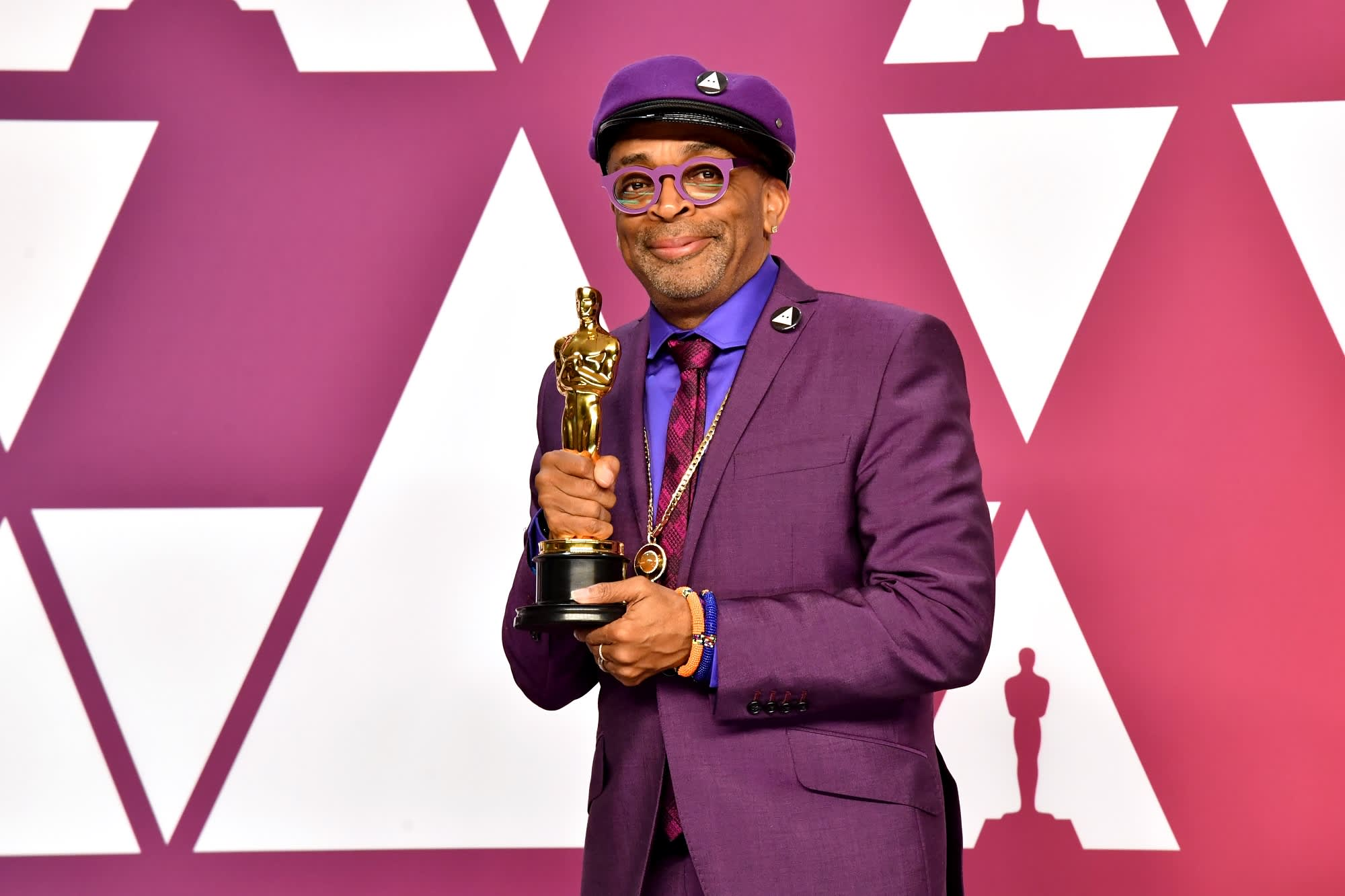 Spike Lee wins his first Oscar, 30 years after 'Do the Right Thing'