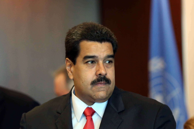 GS: El presidente de Venezuela, Nicolás Maduro, se reúne con el Secretario General de las Naciones Unidas 150728