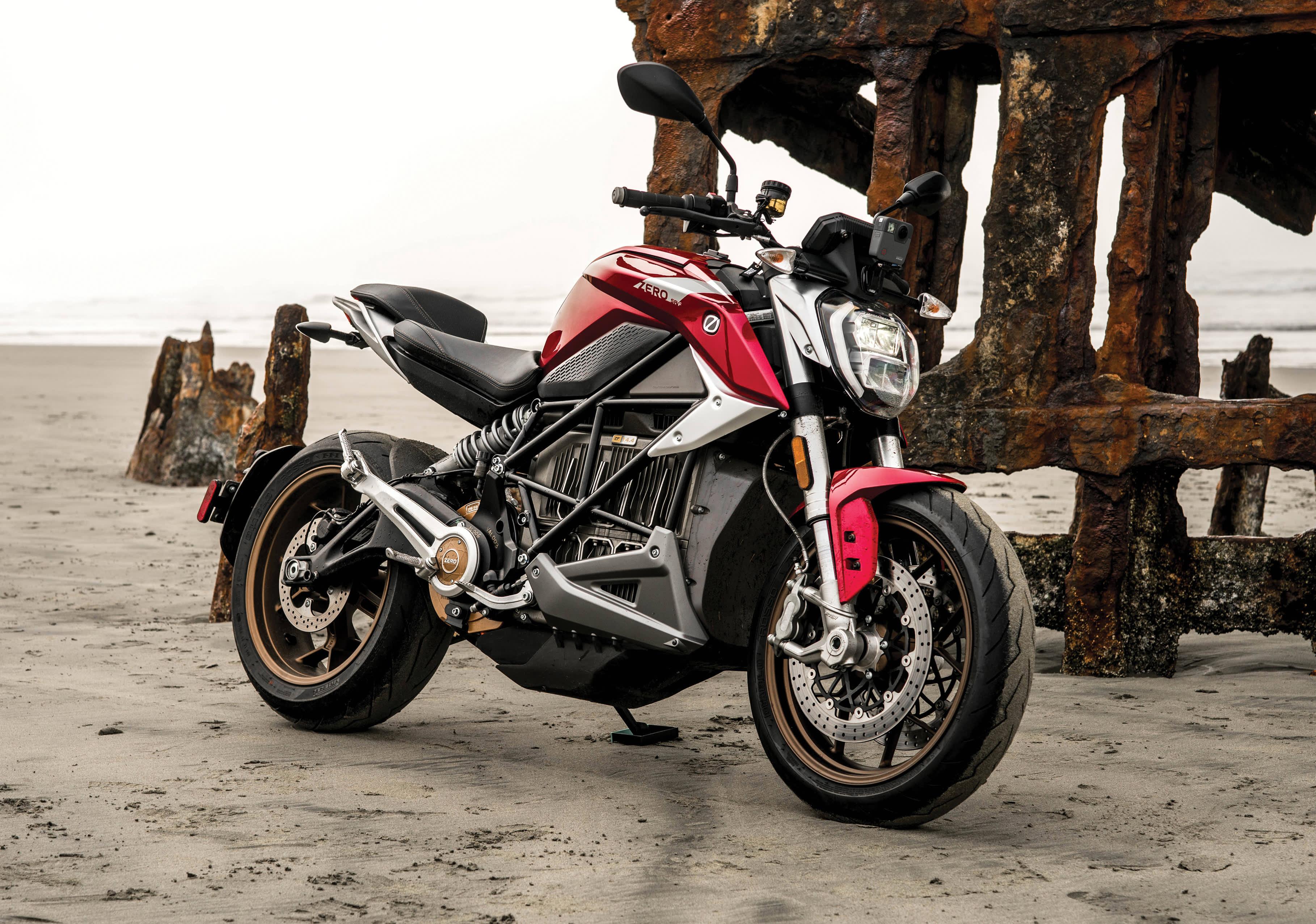 zero electric motorcycles rapid srf
