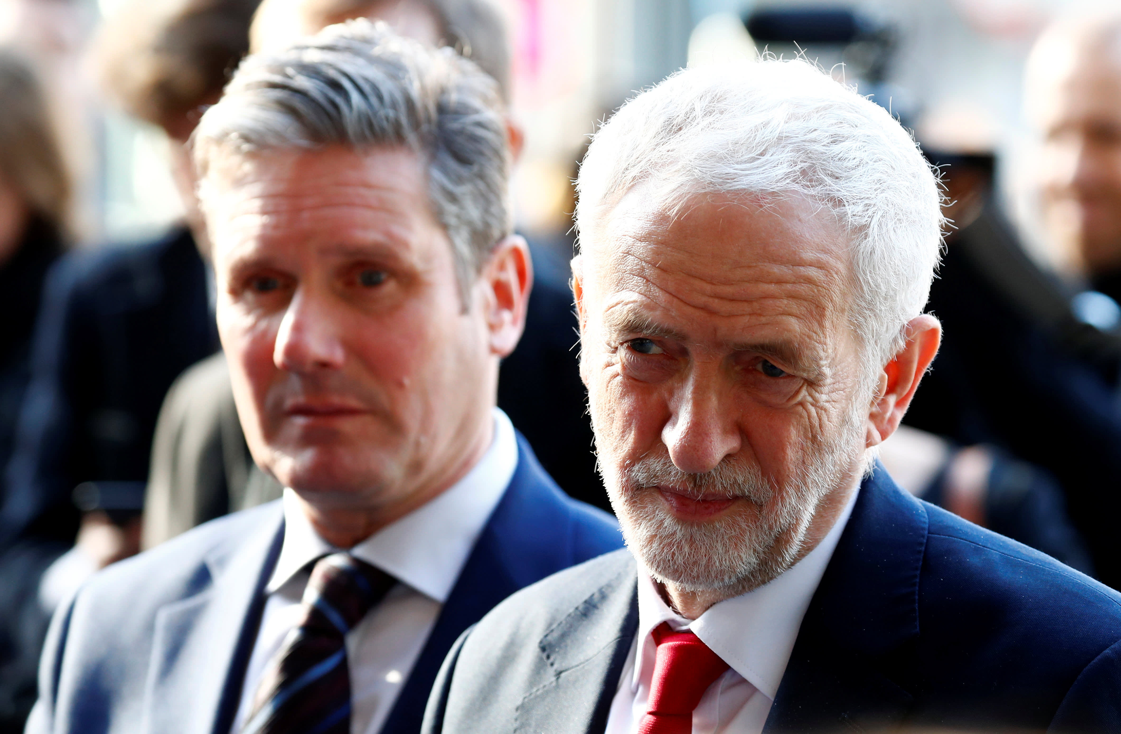 UK opposition leader Corbyn writes to Queen over parliament suspension