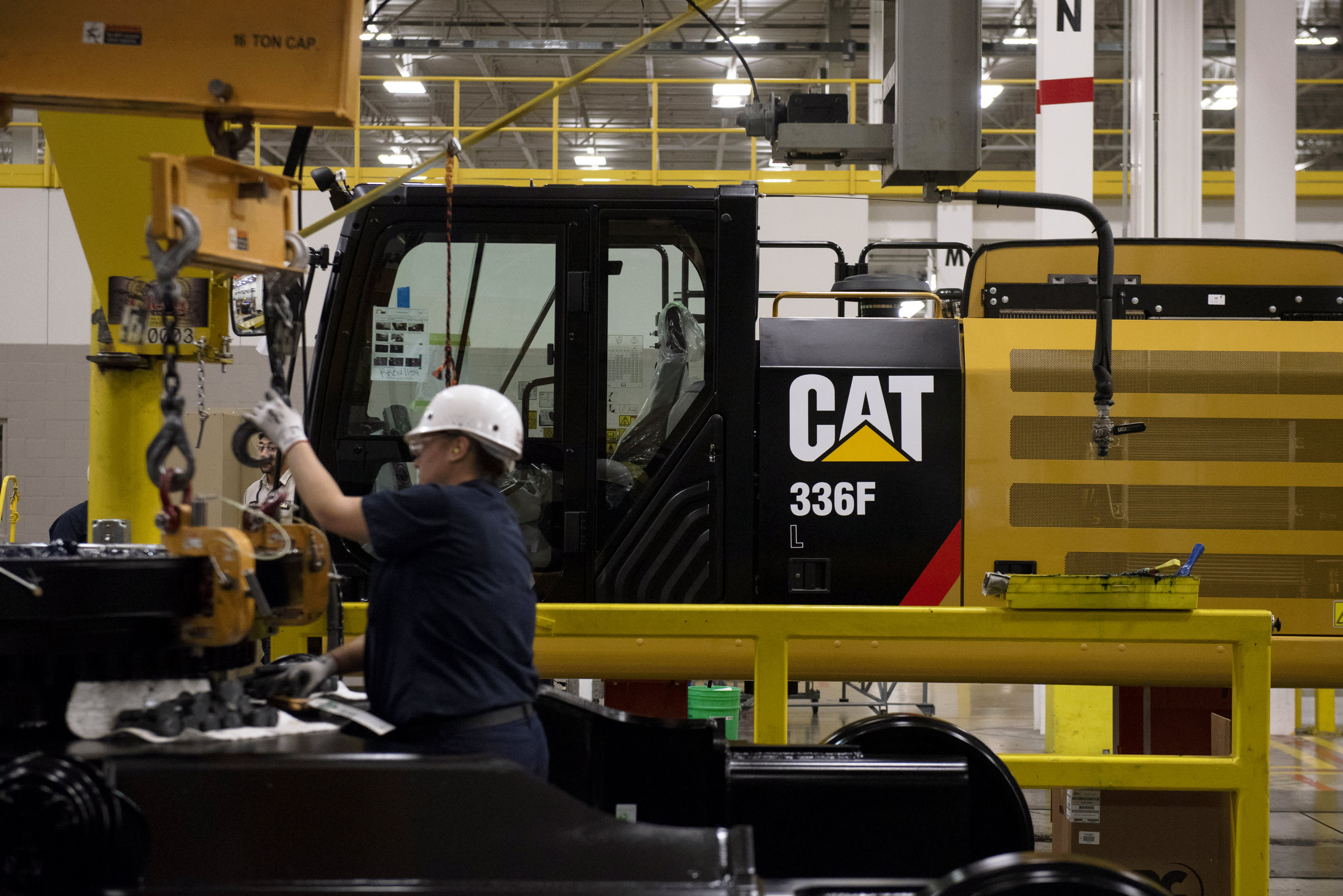Morgan Stanley downgrades Caterpillar, says the stock is running 'out of steam'