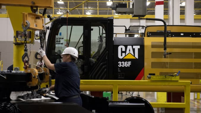 GP: Caterpillar Inc. Manufacturing Facilities As Profit Outlook Raised Despite Expected Tariff Impact
