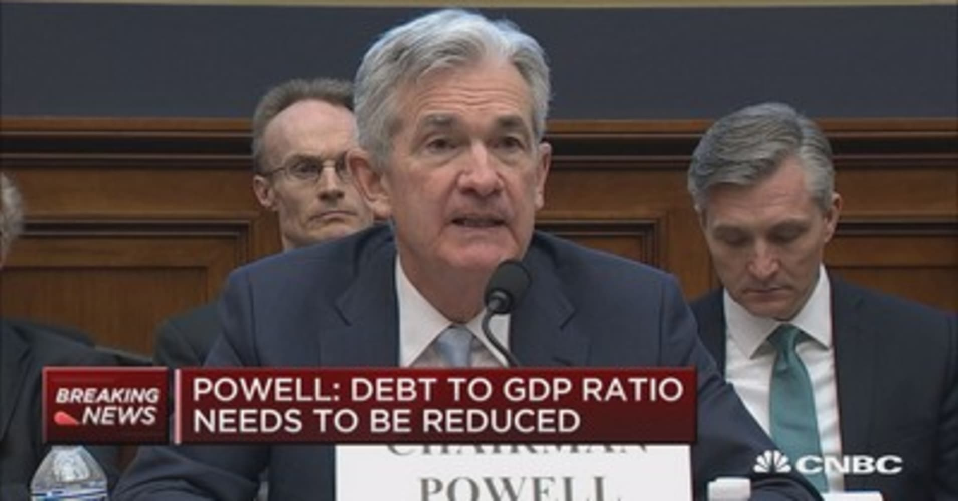 Fed's Jerome Powell: Inflation objective is two percent, but it's subjective