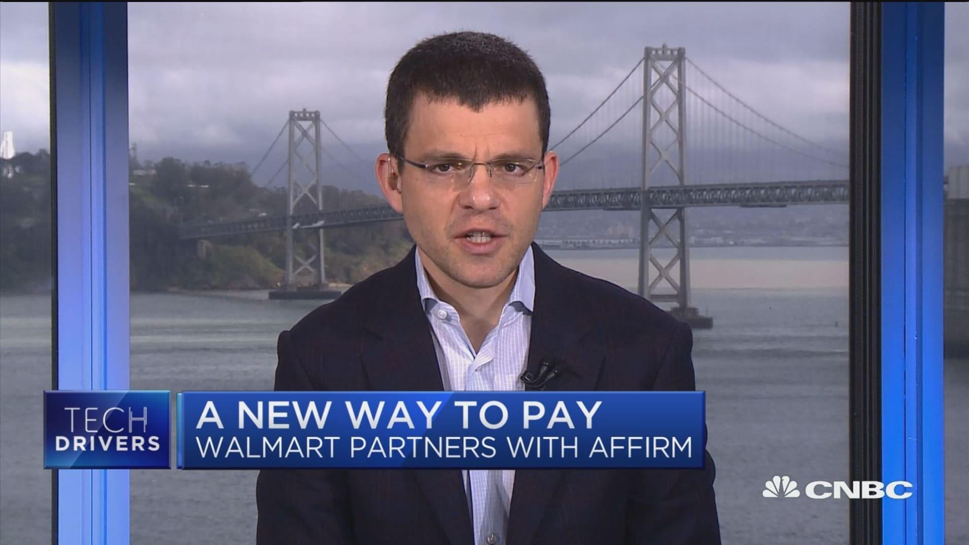 Loan app Affirm CEO breaks down new Walmart partnership