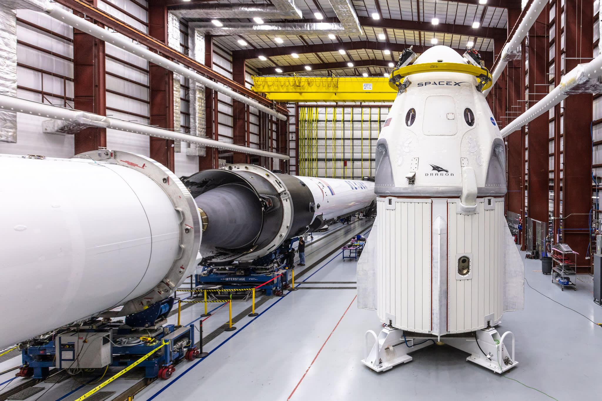 A SpaceX capsule built to fly humans was 'destroyed' during testing in Florida, company VP says