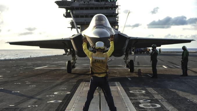 H/O: F-35C Navy USS George Washington