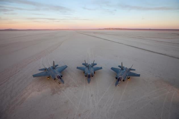 H/O: F-35 variants Lockheed Martin