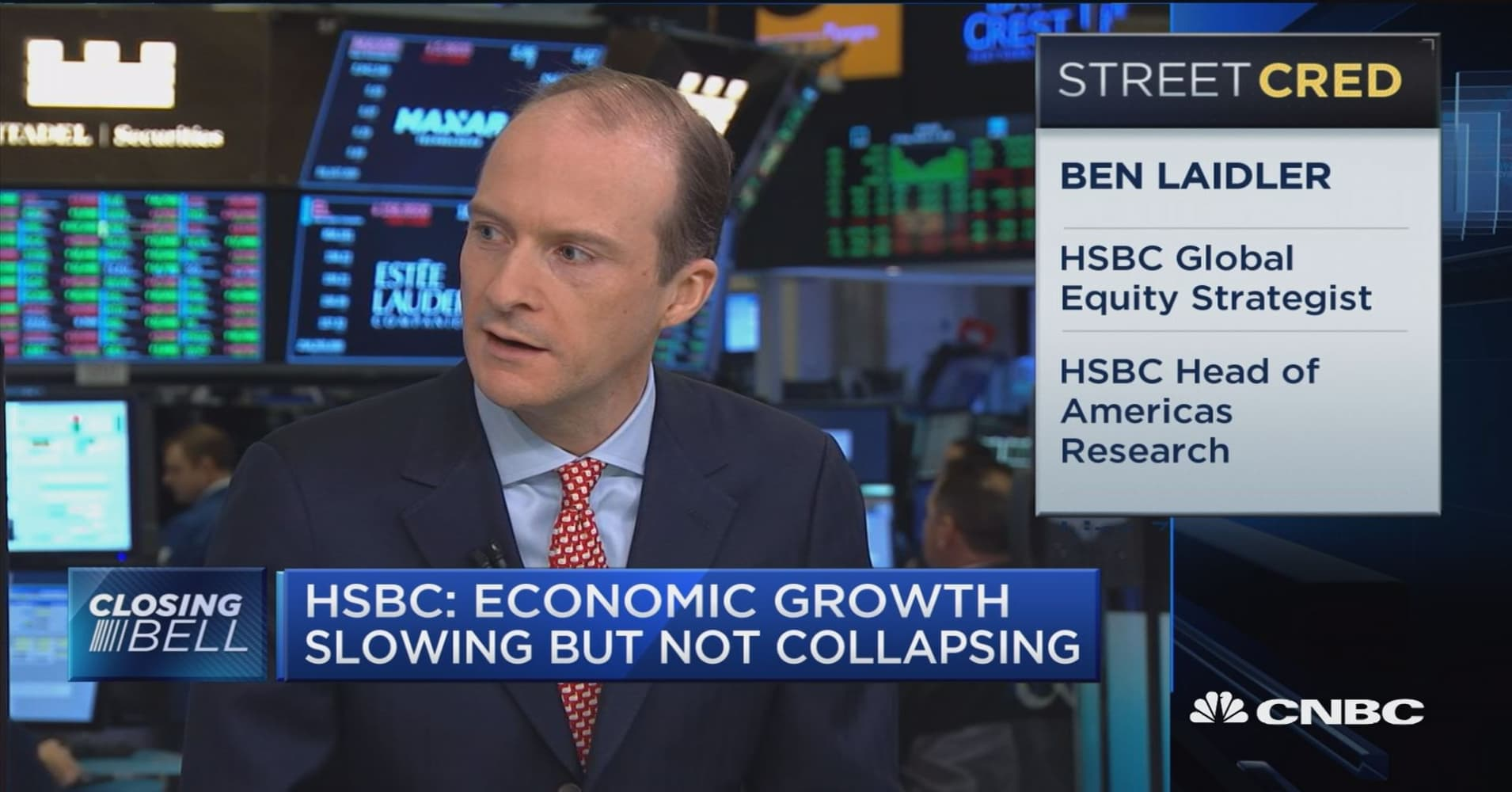 If U S equities are going to go higher, it will come from somewhere other  than the Fed, says Ben Laidler