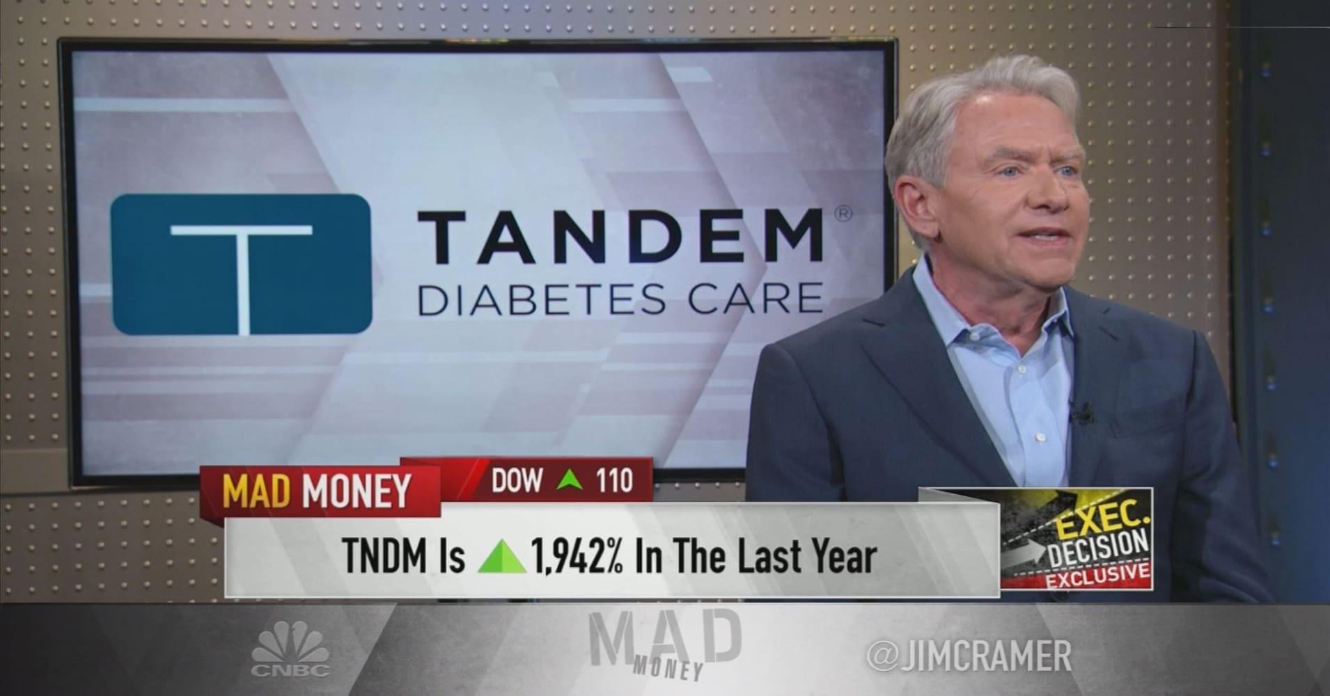 Tandem Diabetes CEO: Using an insulin pump like an iPhone