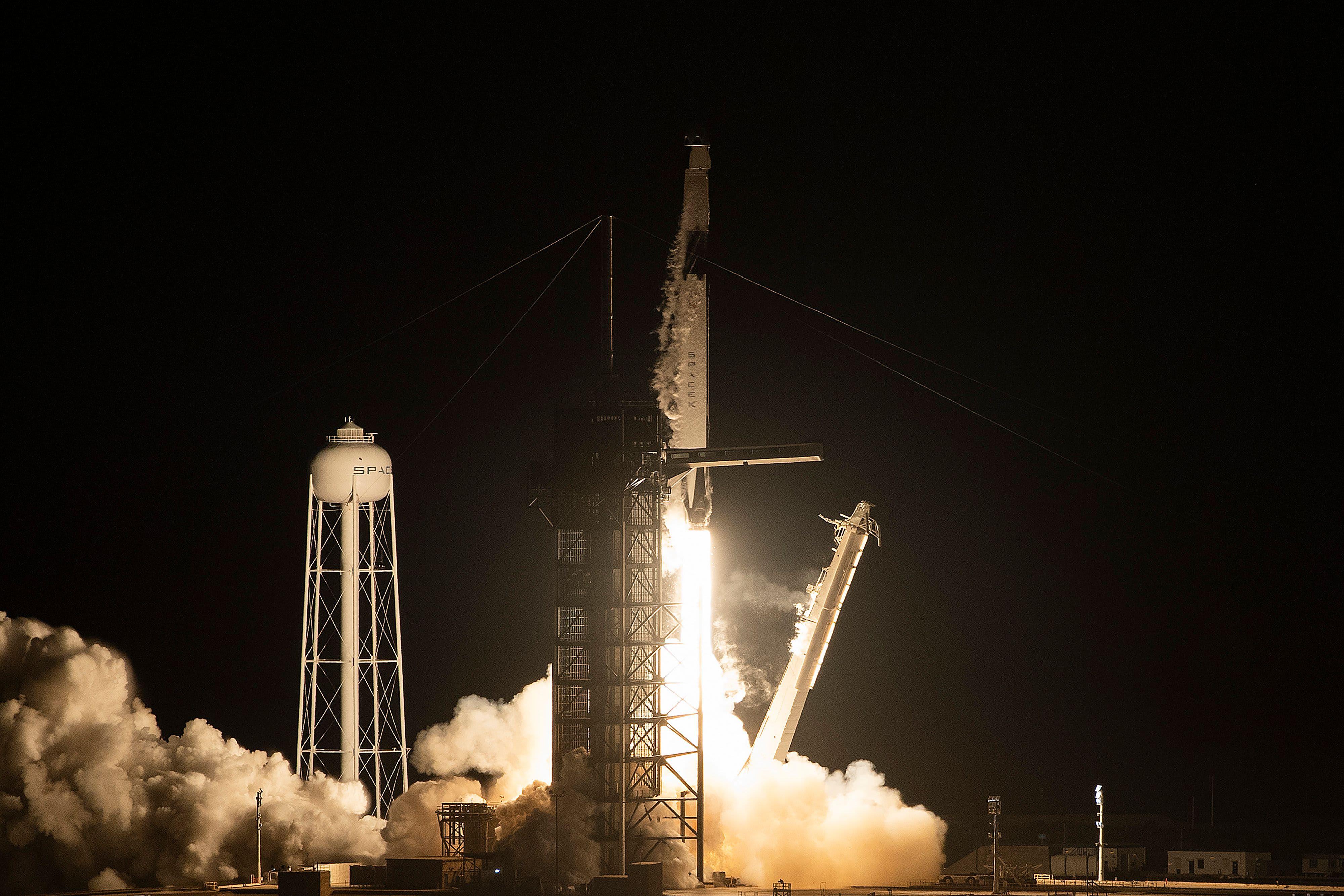96c05e1e920a Watch SpaceX launch its Crew Dragon capsule in milestone test flight