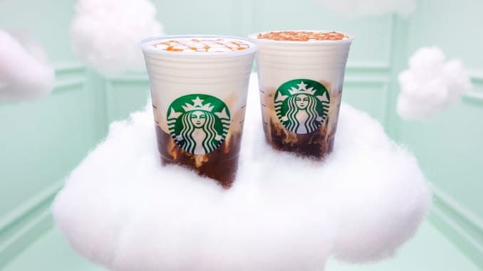 Starbucks Launches Its Latest Drink The Cloud Macchiato